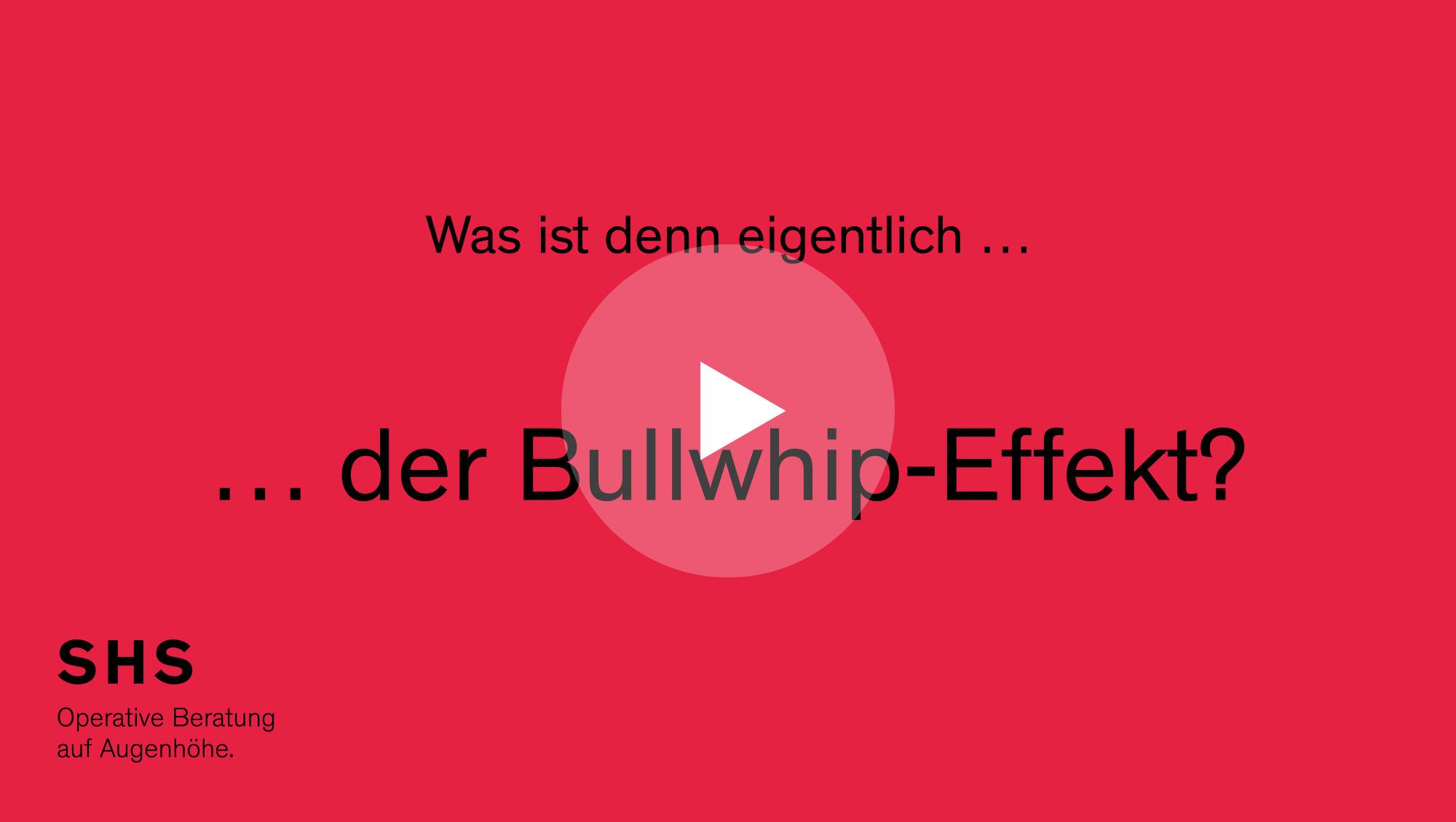 Bullwhip-Effekt