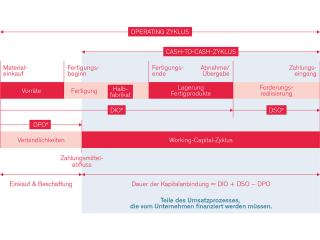 Grafik zum Ablauf des Supply Chain Consulting bei SHS.